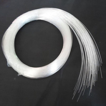 Hot sales 50~500PCS X 0.5mm X 2 Meter end glow PMMA optic fiber cable for star ceiling light free shipping