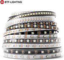SK6812 RGBW (Similar WS2812B) 4 in 1 Led Strip Light 1m 4m 5m 30/60/144 leds/m Individual Addressable Led Lights IP30/65/67 DC5V