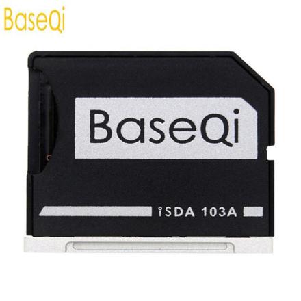 "BaseQi NinjaDrive Micro SD Adapter for MacBook Air 13""and MacBook Pro 13""/15"" (Non-Retina) Alternative Nifty MiniDrive"