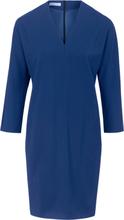 Klänning i 100% ren ny ull från St. Emile blå