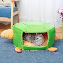 Haustier-runder faltender Kennel Jurte Winter-warmes entfernbares Breathable Katzen-Hundebett