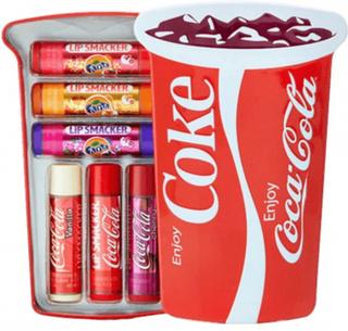Lip Smacker Coca Cola Cup Tin Lip Balms 6 stk