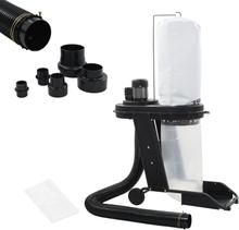 vidaXL støvopsamler med adaptersæt 550 W sort
