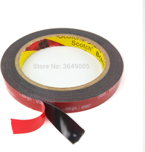 3M VHB 5952 Black Heavy Duty Mounting Tape Double Sided Adhesive Acrylic Foam Tape 5mm-50mm x3Mx1.1mm