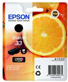 Epson Epson T33 series Epson 33 Blekkpatron svart, 250 sider