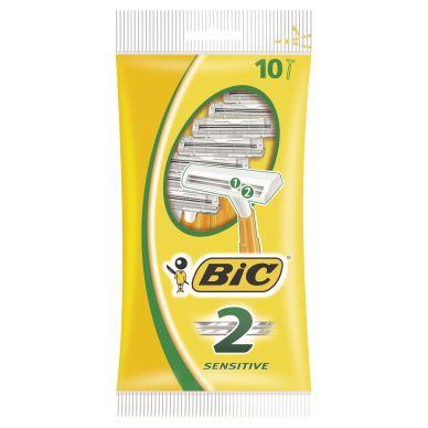 Bic BIC-höylä Sensitive, kaksiteräinen 10 kpl/pakkaus