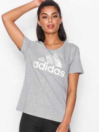 Adidas Sport Performance Foil Text Bos Grå