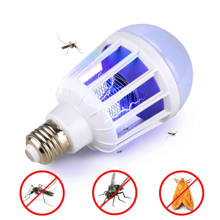 AC175~220V LED Mosquito Killer Bulb E27/B22 LED Bulb For Home Lighting Bug Zapper Trap Lamp Insect Anti Mosquito Repeller Light
