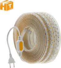 220V 110V LED Strip 2835 High Safety High Brightness 120LEDs/m Flexible LED Light Outdoor Waterproof LED Strip Light.