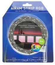 AIRAM LED Strip 3m RGB IP44, 14,4 Watt 6435200157751 Replace: N/AAIRAM LED Strip 3m RGB IP44, 14,4 Watt