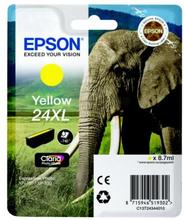EPSON Bläckpatron gul, 740 sidor, hög kapacitet T2434 Replace: N/AEPSON Bläckpatron gul, 740 sidor, hög kapacitet
