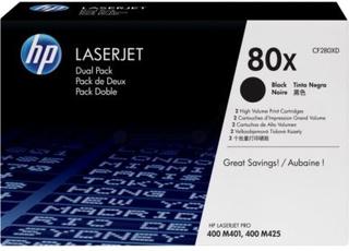 HP Tonerkassett sort *2-pakk* 2x 6.900 sider