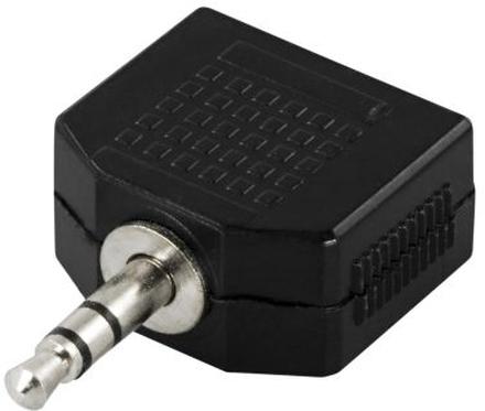 DELTACO DELTACO Y-adapter för ljud, 1 x 3,5 mm ha till 2 x 3,5 mm ho 7340004608363 Replace: N/ADELTACO DELTACO Y-adapter för ljud, 1 x 3,5 mm ha till 2 x 3,5 mm ho