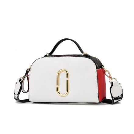 New 2019 Elegant Shoulder Bag Women Designer Luxury Handbags Women Bags Stitching Color Messenger Crossbody Bag for Women