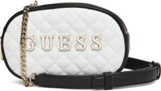 Guess Passion Xbody Belt Bag Bags Small Shoulder Bags/crossbody Bags Hvit GUESS