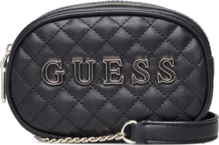 Guess Passion Xbody Belt Bag Bags Small Shoulder Bags/crossbody Bags Svart GUESS
