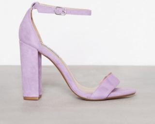 Steve Madden Carrson Sandal High Heel Lavender