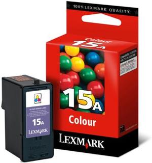 Lexmark Lexmark 15 Blækpatron 3-farve