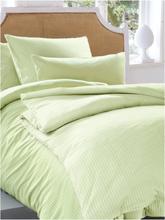 Bettbezug ca. 135x200cm, Kissenbezug ca. 80x80cm Irisette grün