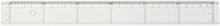 Linjal tvärgraderad 50 cm