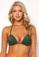 Chiara Forthi Monaco triangle padded bra Emerald green L