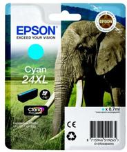 EPSON Bläckpatron cyan, 740 sidor, hög kapacitet T2432 Replace: N/AEPSON Bläckpatron cyan, 740 sidor, hög kapacitet