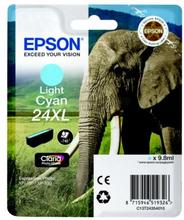 EPSON Bläckpatron ljus cyan, 740 sidor, hög kapacitet T2435 Replace: N/AEPSON Bläckpatron ljus cyan, 740 sidor, hög kapacitet