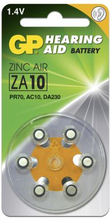 GP BATTERIES GP ZA 10-D6 / PR70 GPZA10-D6 Replace: N/AGP BATTERIES GP ZA 10-D6 / PR70