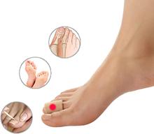 Men Damen Silikagel-Zehenfingerschutz Soft Fußpflege-Blasenentferner