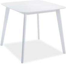 Matbord Deanna 80x80 cm - Vit