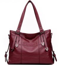 Hot Leather Luxury Handbags Women Bags Designer Ladies Crossbody Hand Bags For Women 2019 Casual Tote Bolsa Feminina Sac A Main