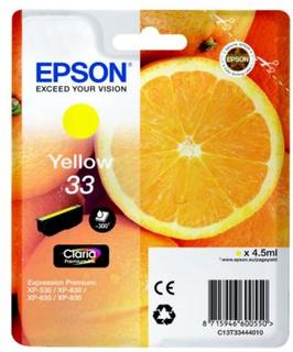 Epson Epson T33 series Epson 33 Blekkpatron gul, 300 sider