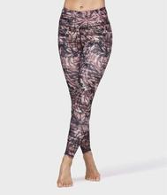 Floral Camo legging, Blommigt / XL