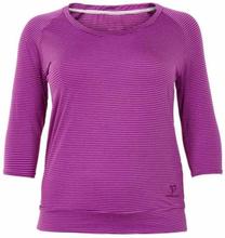 Caris trekvartsärmad tröja, Lila / S
