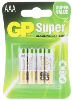 GP BATTERIES Batteri 1,5 V AAA, Alkaliska (4-pack) 24A-U4 Replace: N/AGP BATTERIES Batteri 1,5 V AAA, Alkaliska (4-pack)