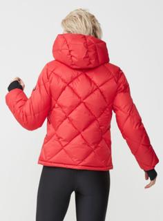 Active Short Jacket, Röd / S