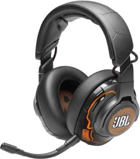 JBL Quantum ONE | Gaming-headset, Over-ear Med Kabel - JBL 9.1 Surroundlyd Og Aktiv Støjreduktion - PS4/XBOX/Switch/PC-kompatibel - Gaming