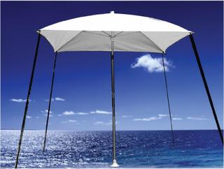 Parasol til båd