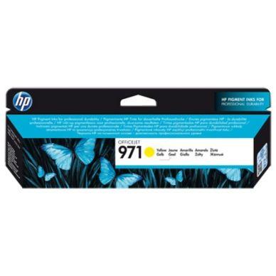 HP Keltainen HP 971 Officejet -mustekasetti 2500 sivua