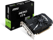 GeForce GTX 1050 AERO ITX OC V1 - 2GB GDDR5 RAM - Grafikkort