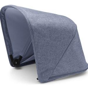 Bugaboo Bugaboo Fox Solsufflett Blå Melange Sun Canopy Blue Melange