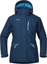 Bergans Alme Insulated Youth Girl Jacket Barn skijakker fôrede Blå 128