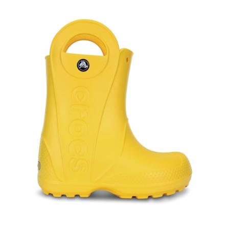 Crocs Handle It Rain Boot Barn Gummistövlar Gul 32-33