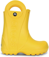 Crocs Handle It Rain Boot Barn Gummistövlar Gul 32-33