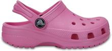 Crocs Kids Classic Clog Barn Sandaler Rosa 29-30