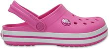 Crocs Kids Crocband Clog Barn Sandaler Rosa 22-23