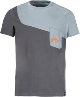 La Sportiva Climbique T-shirt Men's Herre kortermede trøyer Grå S