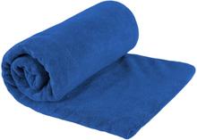 Sea to Summit Tek Towel L Toalettartikel Blå L