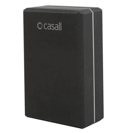 Casall Yoga Block träningsredskap Svart OneSize