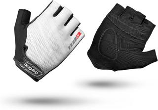 GripGrab Rouleur Padded Short Finger Glove Unisex treningshansker Hvit 12